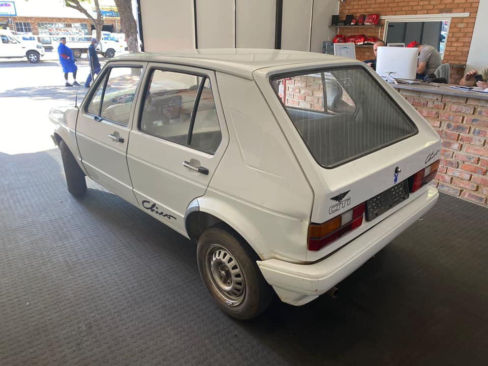 VW Citi Golf MK1 - Stripping for spares
